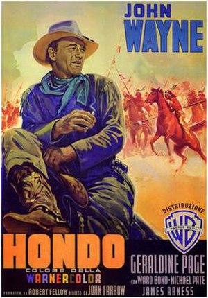 Hondo (film) - 1953 film poster