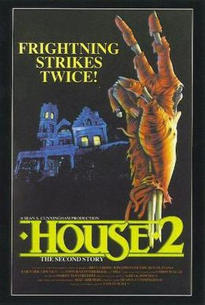 House II: The Second Story - Theatrical release poster