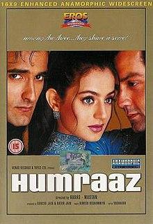 Humraaz (2002) SL DM - Bobby Deol, Akshaye Khanna, Ameesha Patel, Johnny Lever, Suhasini Mulay, Sheela Sharma