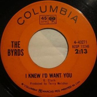 I Knew I'd Want You - Image: I Knew I'd Want You label