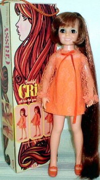 Crissy - Ideal Crissy Doll with box, circa 1969