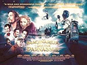 The Imaginarium of Doctor Parnassus - Theatrical release poster