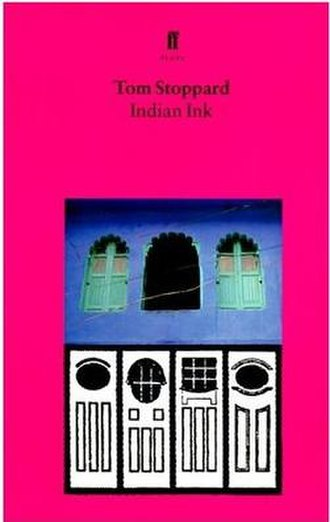 Indian Ink - Cover of the Faber edition