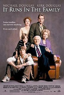 <i>It Runs in the Family</i> (2003 film) 2003 film by Fred Schepisi