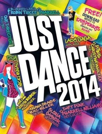 Just Dance 2014 - North American cover art (Wii)