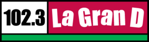 KDUT - Image: KDUT La Gran D102.3 logo