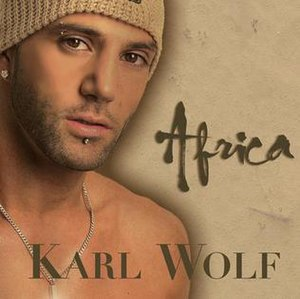 Africa (Karl Wolf song) - Image: Karl Wolf Africa Single Cover