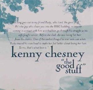 The Good Stuff - Image: Kennychesney 452959