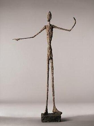 L'Homme au doigt - Image: L'Homme au doigt Alberto Giacometti