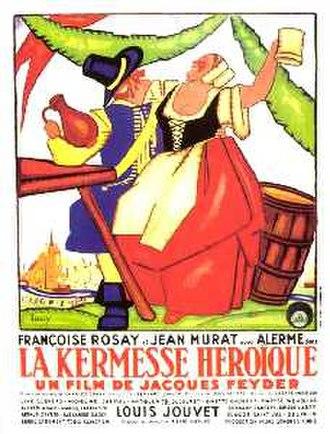 Carnival in Flanders (film) - Poster