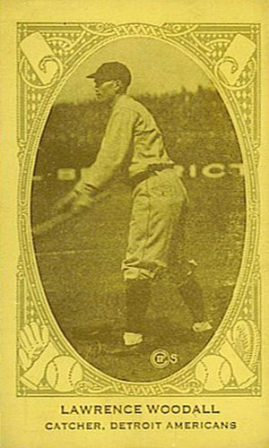 Larry Woodall - Image: Larry Woodall baseball card