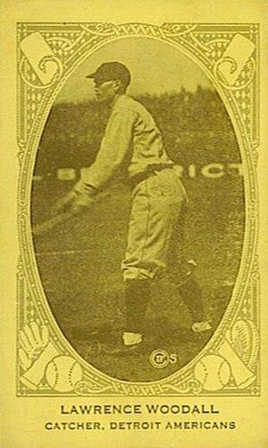 Larry Woodall - Image: Larry Woodall baseball card
