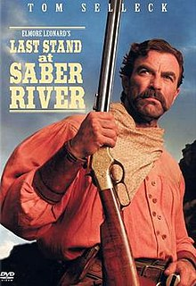 <i>Last Stand at Saber River</i> 1997 film directed by Dick Lowry
