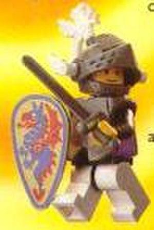 Lego Castle - A Black Knight minifigure