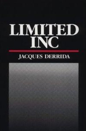 Limited Inc - Cover of the first edition