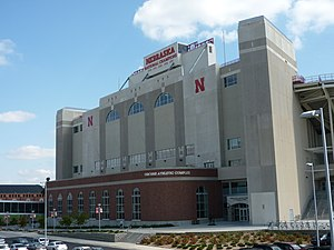 Memorial Stadium (Lincoln) - The North End Zone addition, completed in 2006.