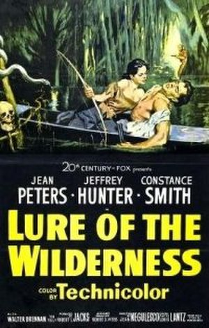 Lure of the Wilderness - Theatrical poster