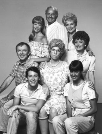 Mama's Family - Cast of the first life of Mama's Family (clockwise from bottom left): Buzz, Vinton, Naomi, Ed (recurring character), Ellen (recurring), Fran, Sonja, and Thelma