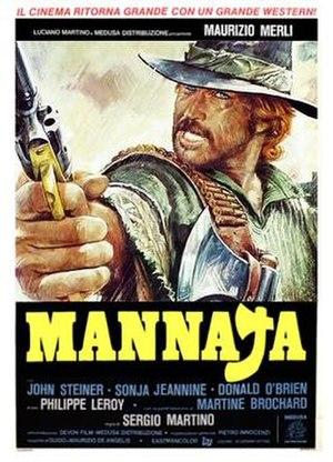 Mannaja - Italian theatrical release poster