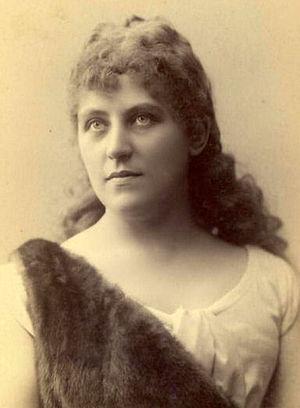 Marie Wittich - Marie Wittich as Sieglinde Bayreuth, c. 1901