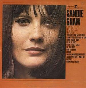 Me (Sandie Shaw album) - Image: Me (Sandie Shaw album) cover