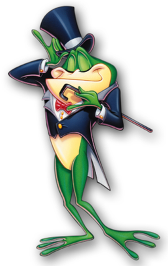 The WB - Michigan J. Frog, the network's mascot from 1995 to 2006.