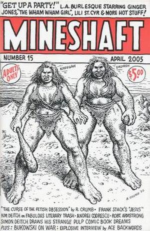 Mineshaft (magazine) - Image: Mineshaft magazine issue 15