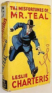 <i>The Misfortunes of Mr. Teal</i> book by Leslie Charteris