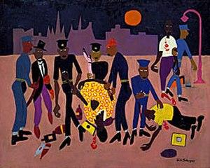 Harlem riot of 1943 - Image: Moon Over Harlem