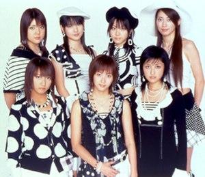 Morning Musume Otomegumi - Morning Musume Otomegumi, 2004. Top row (L to R): Makoto Ogawa, Sayumi Michishige, Reina Tanaka, Kaori Iida Bottom row (L to R): Nozomi Tsuji, Miki Fujimoto, Rika Ishikawa