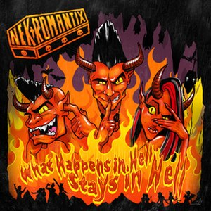 What Happens in Hell, Stays in Hell - Image: Nekromantix What Happens in Hell, Stays in Hell cover