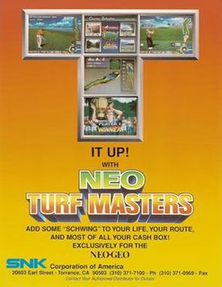 <i>Neo Turf Masters</i> 1996 video game