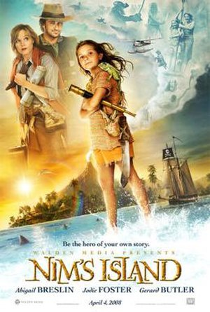 Nim's Island - Theatrical release poster