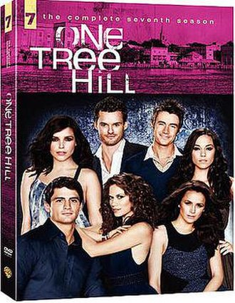 One Tree Hill (season 7) - One Tree Hill Season 7 DVD cover