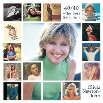 40/40: The Best Selection - Image: Olivia Newton John 40 40 The Best Selection