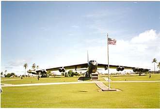 Operation Arc Light - Arc Light Memorial on Andersen AFB, Guam
