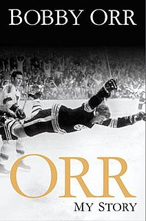 <i>Orr: My Story</i> book by Bobby Orr