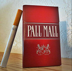 Buying cigarettes Dunhill in Europe