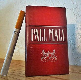 Pall Mall (cigarette) - Image: Pall Mall Red USA