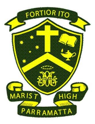 Parramatta Marist High School - Image: Parramatta Marist High School logo