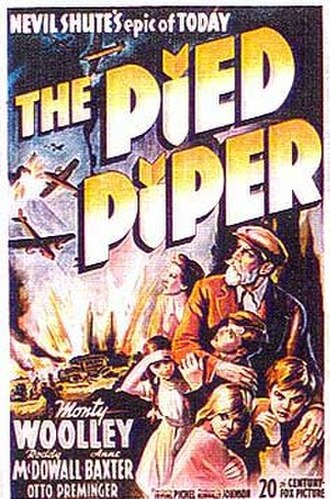 The Pied Piper (1942 film) - Original movie poster