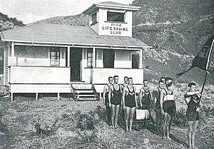 Piha Surf Life Saving Club - Piha Surf Life Saving Club - Clubhouse 1935