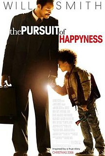 <i>The Pursuit of Happyness</i> 2006 film by Gabriele Muccino