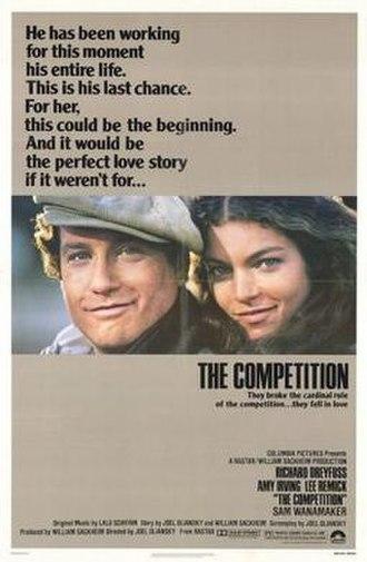 """Alberto Ginastera - Poster of The Competition (film), whose soundtrack includes Ginastera's """"Piano Sonata No. 1"""""""