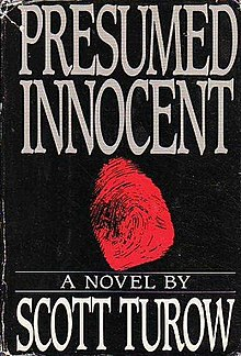 Presumed Innocent Turow Novel  Presumed Innocent Ending