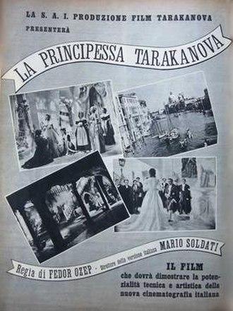 Princess Tarakanova (1938 film) - Image: Princess Tarakanova (film)