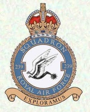 No. 239 Squadron RAF - Image: RAF 239 Squadron