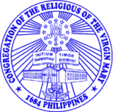 Religious of the Virgin Mary (seal of the congregation).png