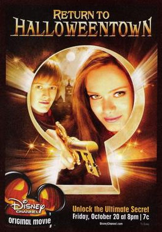 Return to Halloweentown - Promotional poster