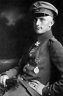 Lothar von Richthofen German flying ace